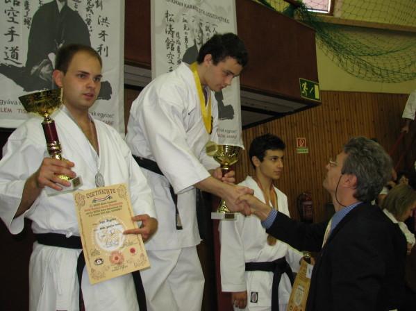 Apdovanojamas pasaulio čempionas Dovydas Žymantas